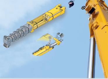 All Terrain Crane Liebherr LTM 1055-3.2